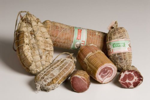 coppa culatello pancetta